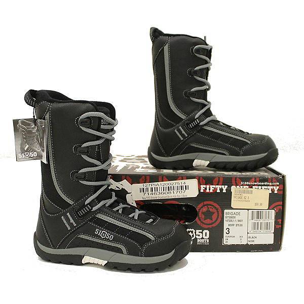 5150 NEW IN BOX Brigade Snowboard Boots Youth Boys 3 SALE, , 600