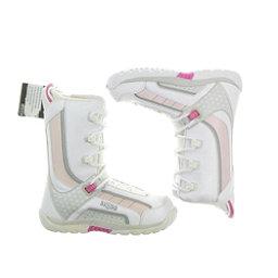 5150 NEW Brigade Boys & Girls Kids Snowboard Boots, White, 256