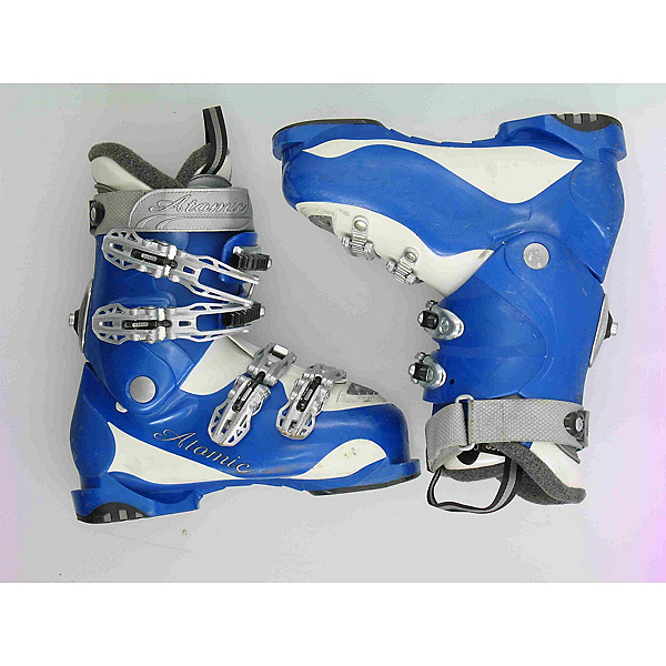 Used Atomic Blue Intermediate Womens Ski Boots, Blue, 600