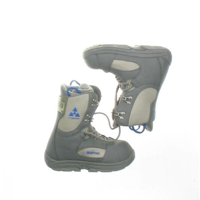 Burton Used Burton Progression Snowboard Boot Youth Size 3.0 - Mondo 21.0 Gray Snowboard Boots