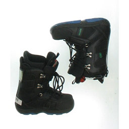 Burton Used Burton Progression Snowboard Boot Youth Size 3.0 - Mondo 21.0 Gray Snowboard Boots, Black Green Blue, 256