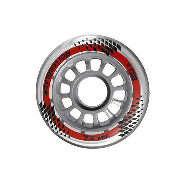 Rollerblade 72mm 80A Jr Inline Skate Wheels - 8 Pack, , 600
