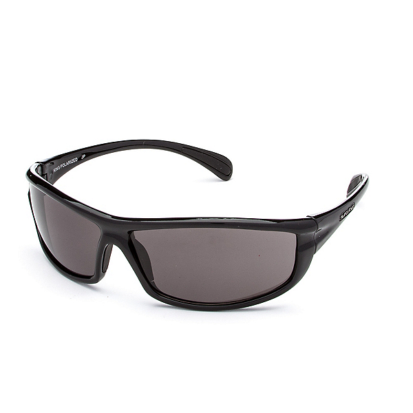 SunCloud King Sunglasses, Black-Gray Polarized, 600