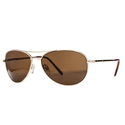 SunCloud Patrol Sunglasses, Gold-Brown Polarized, 256