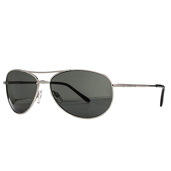 SunCloud Patrol Sunglasses, Silver-Gray Polarized, 600