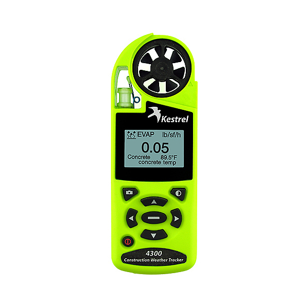 Kestrel 4300 Construction Weather Tracker with Bluetooth, , 600