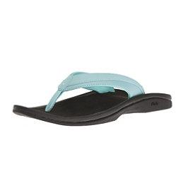 OluKai Ohana Womens Flip Flops, Seaglass, 256