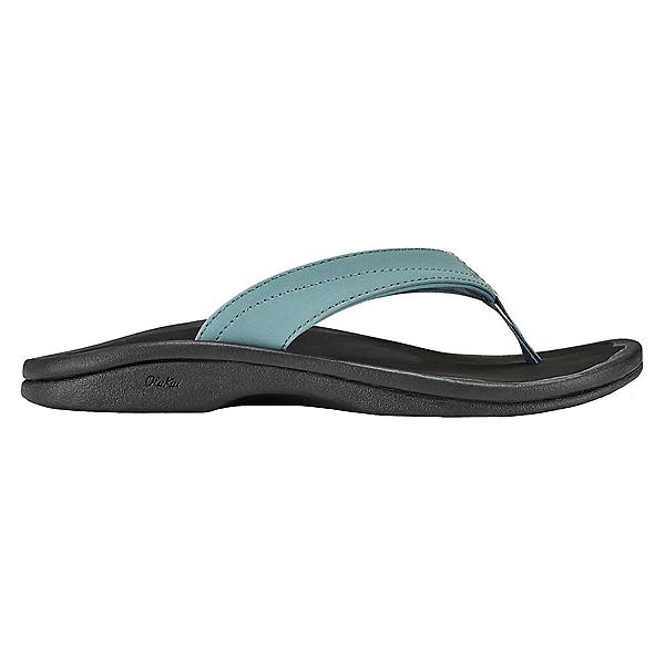 OluKai 'Ohana Womens Flip Flops, Dusk-Black, 600