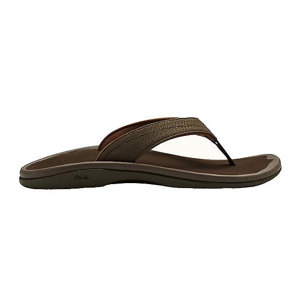 OluKai 'Ohana Womens Flip Flops, Dark Java-Dark Java, 600