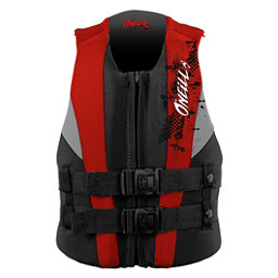 O'Neill Youth USCG Junior Life Vest 2018, Coal-Red-Flint, 256