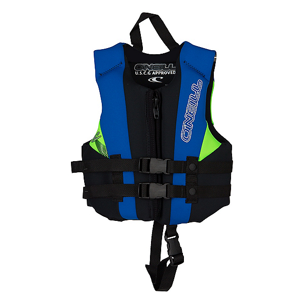 O'Neill Child USCG Vest Toddler Life Vest 2020, Black-Pacific-Day Glo, 600