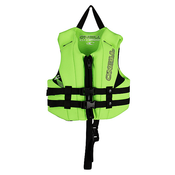 O'Neill Child USCG Vest Toddler Life Vest 2020, Dayglo-Dayglo-Black, 600