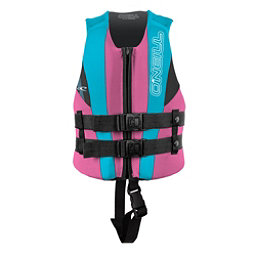 O'Neill Child USCG Vest Toddler Life Vest 2018, Petunia-Turquoise-Black, 256