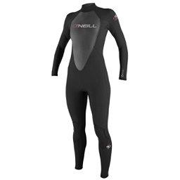 O'Neill Reactor 3/2 Womens Full Wetsuit 2017, Black-Black-Black, 256