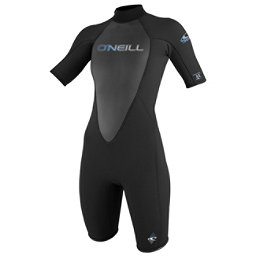 O'Neill Reactor 2/1 Womens Shorty Wetsuit 2017, Black, 256