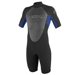 O'Neill Reactor Kids Shorty Wetsuit 2017, Black-Pacific, 256