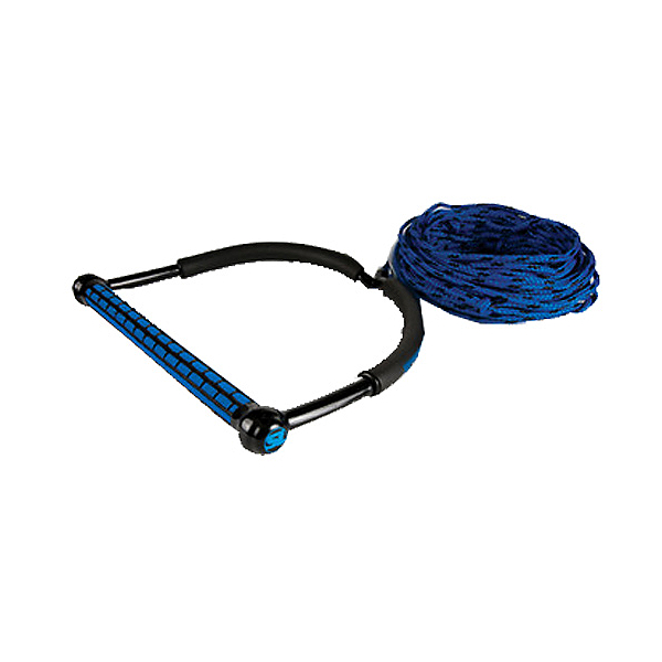 Straight Line TR9 Wakeboard Handle with Static Line Wakeboard Rope 2020, Blue, 600