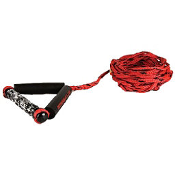 Straight Line Combo Wakesurf Rope 2018, Red-Black, 256
