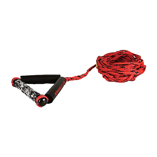 Straight Line Combo Wakesurf Rope 2020, Red-Black, 600