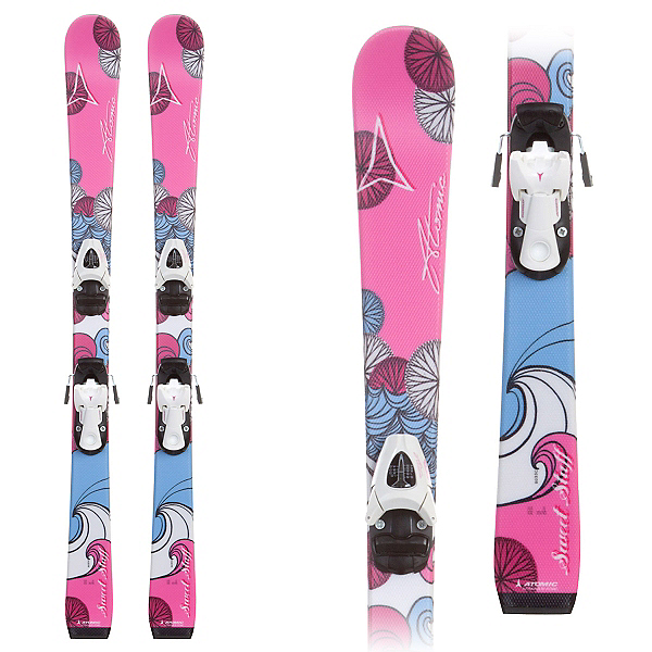 Atomic Sweet Stuff Kids Skis with Evox 45 Bindings, , 600