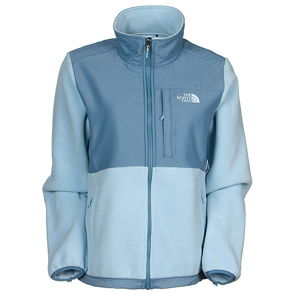 The North Face Denali Fleece Womens Jacket (Previous Season), Recycled Tofino Blue-Cool Blue, 600