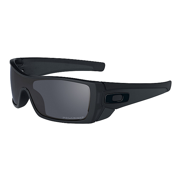 Oakley Batwolf Polarized Sunglasses, Matte Black, 600
