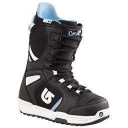 Burton Coco Womens Snowboard Boots, Black-White, 256