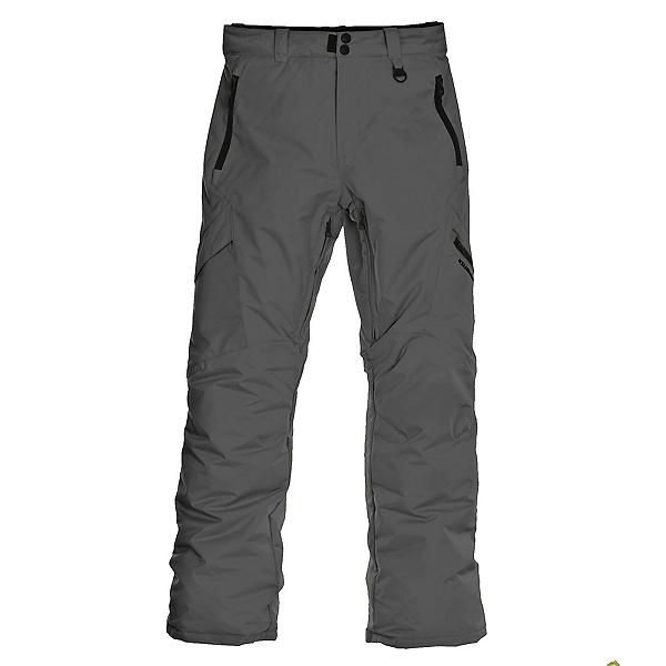 Boulder Gear Bolt Cargo Insulated Kids Ski Pants, Raven Gray, 600