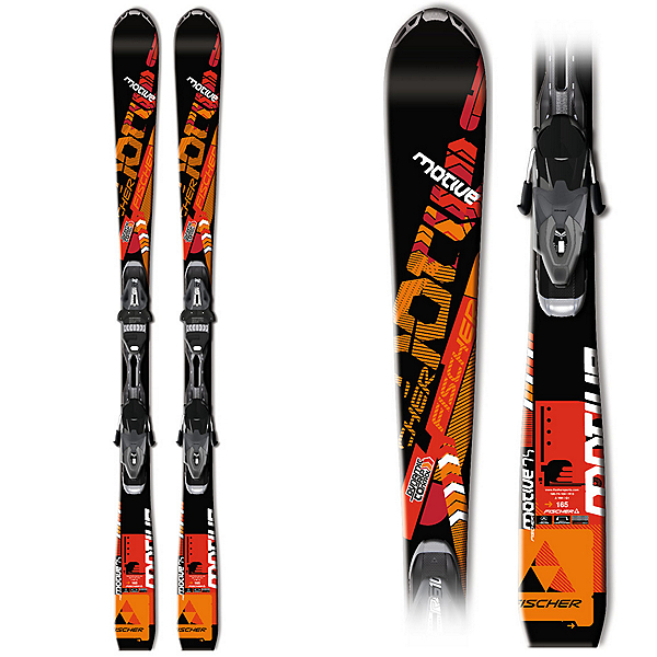 Fischer Motive 74 Skis with RS10 PR Bindings, , 600