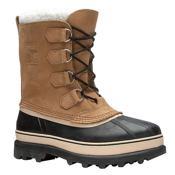 Sorel Caribou Mens Boots, Buff, 600