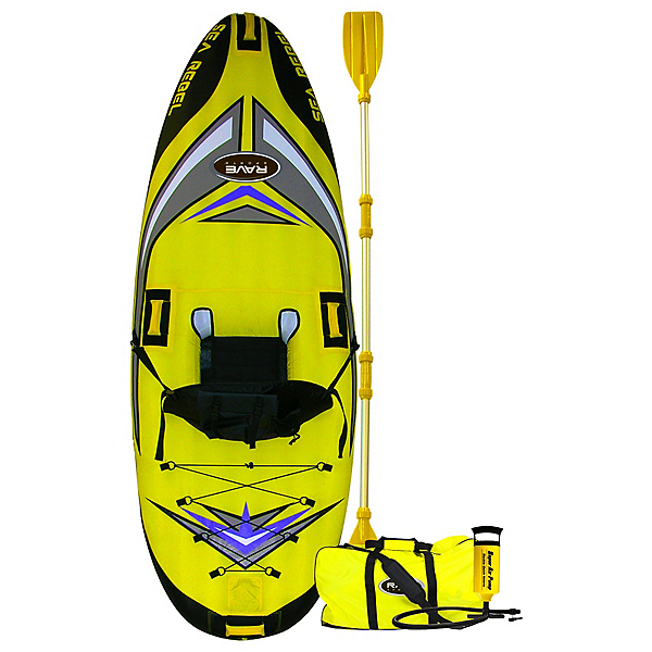 Rave Sea Rebel Inflatable Kayak, , 600