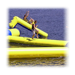 Rave Slidewalk Water Trampoline Attachment, , 256