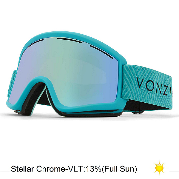 Vonzipper Trike Kids Goggles 2019, Mint Satin-Wild Stellar Chrome, 600