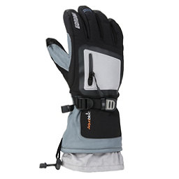 Gordini Fuse Gloves, Black-Light Grey, 256
