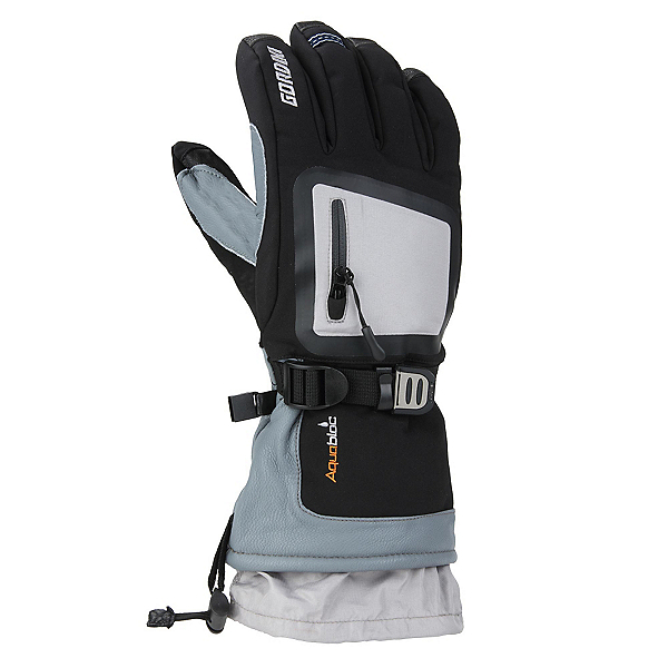 Gordini Fuse Gloves, Black-Light Grey, 600