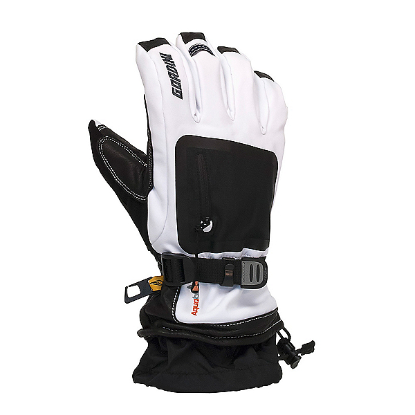 Gordini Fuse Gloves, White-Black, 600