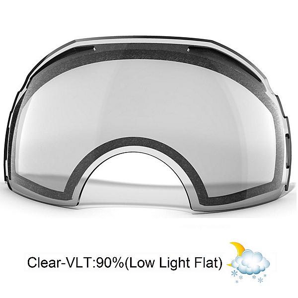 Oakley Airbrake Goggle Replacement Lens 2019, Clear, 600