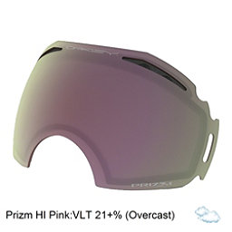 Oakley Airbrake Goggle Replacement Lens 2018, Prizm Hi Pink Iridium, 256