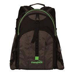 Transpack Sidekick Pro Ski Boot Bag, Black-Lime Electric, 256