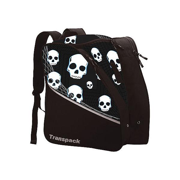 Transpack Edge Junior Ski Boot Bag, Black Skull, 600