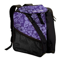 Transpack XTW Ski Boot Bag 2018, Purple Floral, 256