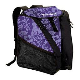 Transpack XTW Ski Boot Bag, Purple Floral, 256