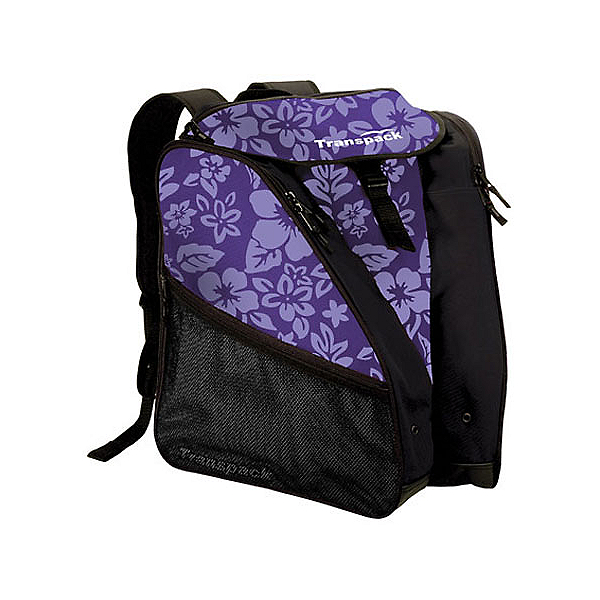 Transpack XTW Ski Boot Bag 2018, Purple Floral, 600