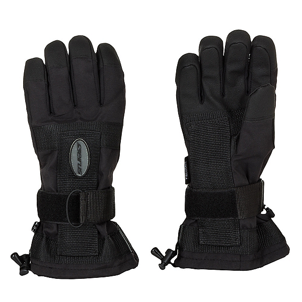 Seirus Da Bone Wrist Protection Gloves, Black, 600