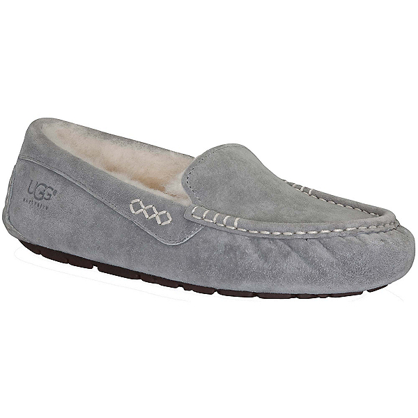 UGG Ansley Womens Slippers, Light Grey, 600