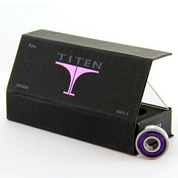 Titen Aragon Skate Bearings, , 600