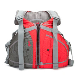 Stohlquist Ebb Adult Kayak Life Jacket, Red, 256