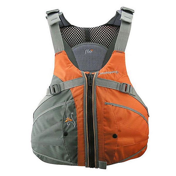 Stohlquist Flo Womens Kayak Life Jacket 2017, Orange, 600