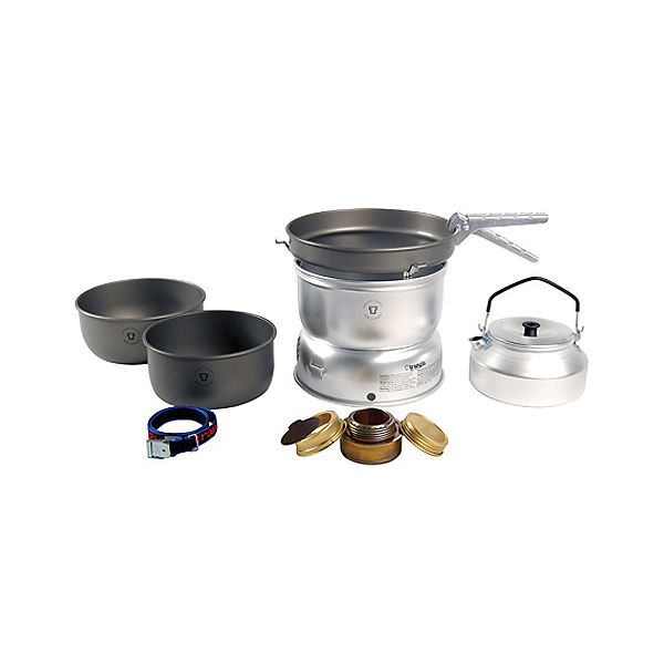 Trangia 25-8 Ultralight Hard Anodized Stove Set, , 600