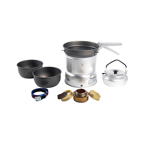 Trangia 27-8 Ultralight Hard Anodized Stove Set, , 600